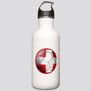 Switzerland Football Stainless Water Bottle 1.0L