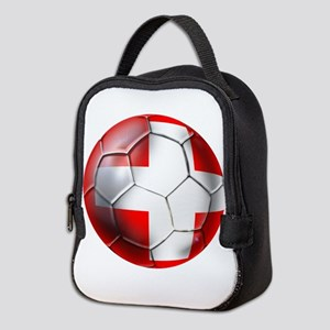 Switzerland Football Neoprene Lunch Bag