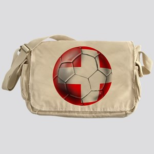 Switzerland Football Messenger Bag