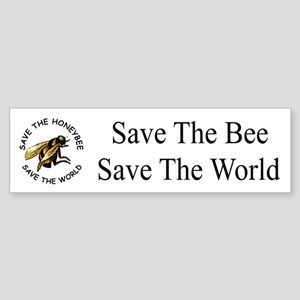 Save The Bee Bumper Sticker