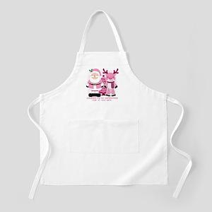 Personalize Pink Santa! Apron