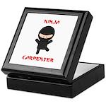 Ninja Carpenter Keepsake Box