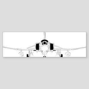 Air Force Jet Bumper Sticker