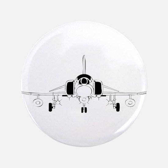 "Air Force Jet 3.5"" Button"