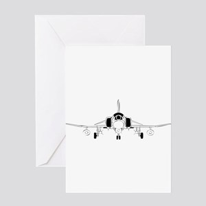 Air Force Jet Greeting Cards