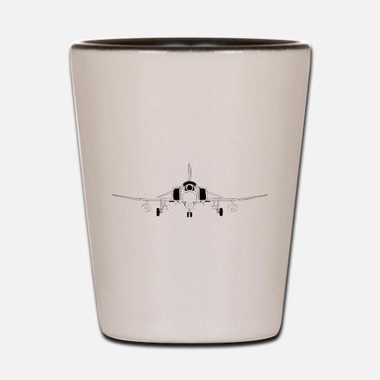 Air Force Jet Shot Glass