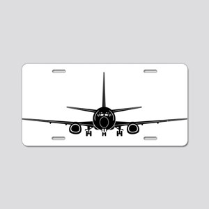 Airplane Aluminum License Plate
