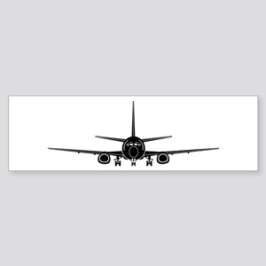 Airplane Bumper Sticker