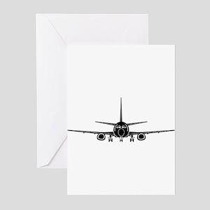 Airplane Greeting Cards
