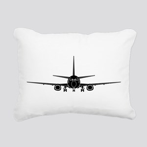 Airplane Rectangular Canvas Pillow