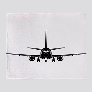 Airplane Throw Blanket