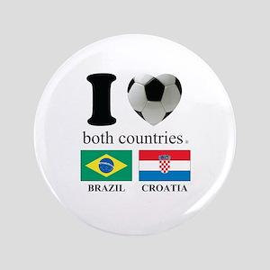 "BRAZIL-CROATIA 3.5"" Button"