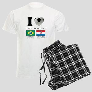 BRAZIL-CROATIA Men's Light Pajamas