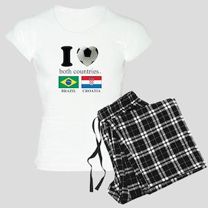 BRAZIL-CROATIA Women's Light Pajamas