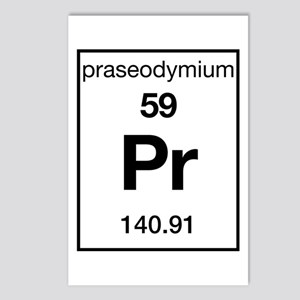 Praseodymium Postcards (Package of 8)