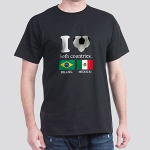 BRAZIL-MEXICO Dark T-Shirt
