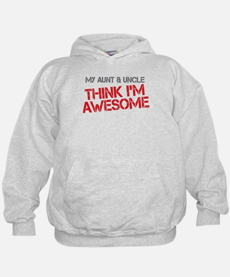 Aunt and Uncle Awesome Hoodie