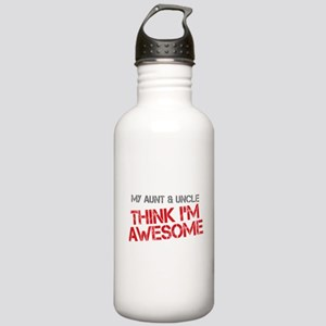 Aunt and Uncle Awesome Stainless Water Bottle 1.0L