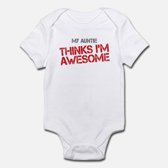 Auntie Awesome Infant Bodysuit