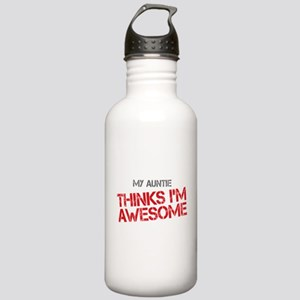 Auntie Awesome Stainless Water Bottle 1.0L