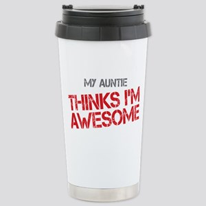 Auntie Awesome Stainless Steel Travel Mug