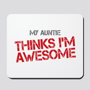 Auntie Awesome Mousepad