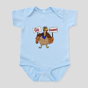 Go Vegan! Infant Bodysuit