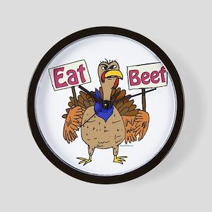 Eat Beef! Wall Clock