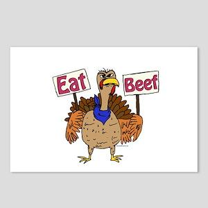 Eat Beef! Postcards (package Of 8)