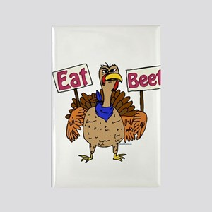 Eat Beef! Rectangle Magnet
