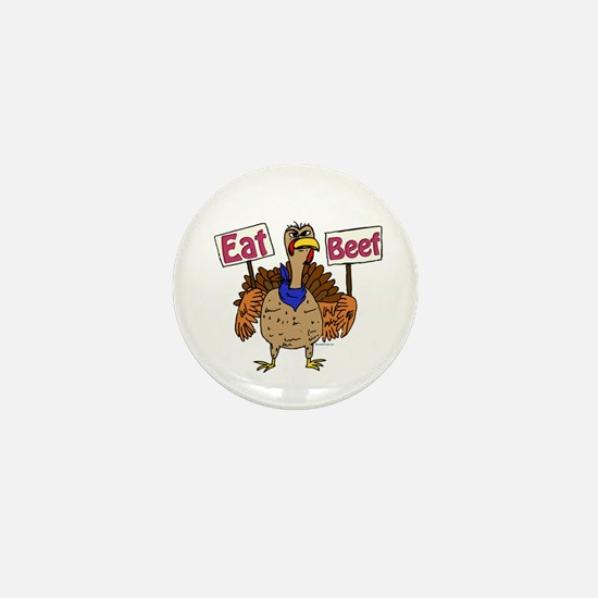 Eat Beef! Mini Button (100 pack)