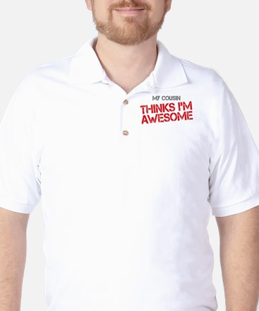Cousin Awesome Golf Shirt