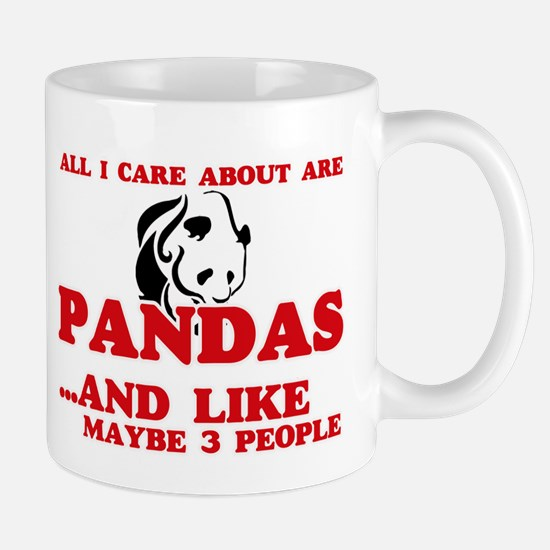 All I care about are Pandas Mugs