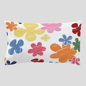 Big Flower Print Pillow Case