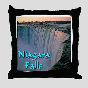 Niagara_Falls Throw Pillow