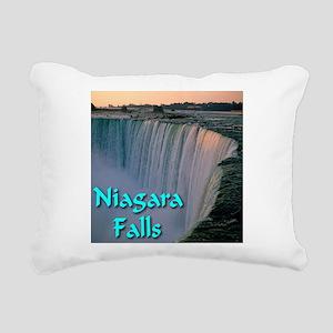 Niagara_Falls Rectangular Canvas Pillow