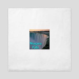 Niagara_Falls Queen Duvet