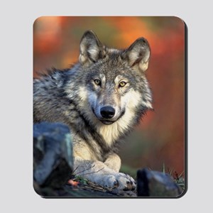 Wolf Wolves Lovers Mousepad