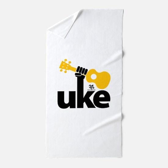 Uke Fist Beach Towel