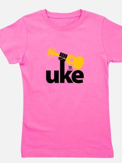 Uke Fist Girl's Tee