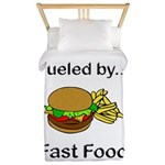 Fueled by Fast Food Twin Duvet