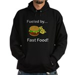 Fueled by Fast Food Hoodie (dark)