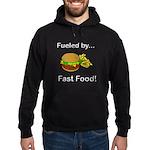 Fueled by Fast Food Hoodie (dark)