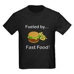 Fueled by Fast Food Kids Dark T-Shirt