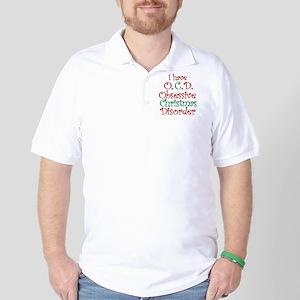 OCD - Obsessive Christmas Disorder Golf Shirt