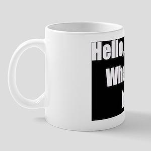 What did you break Thumbnail Mug