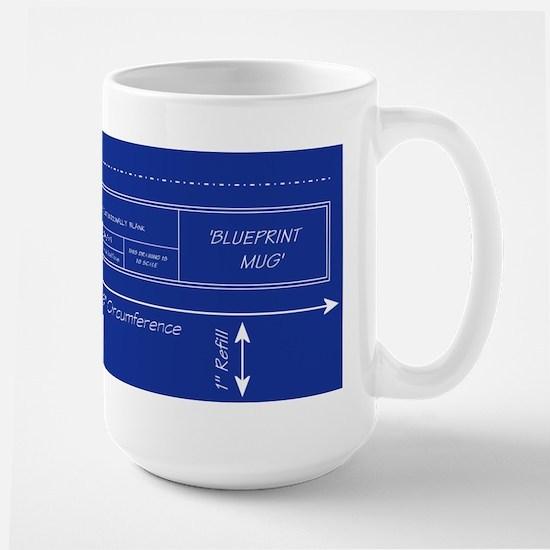 Blueprint mugs cafepress blueprint mugs malvernweather Gallery