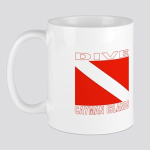 Dive Cayman Islands Mug