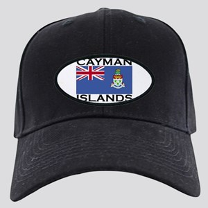 Cayman Islands Flag Black Cap