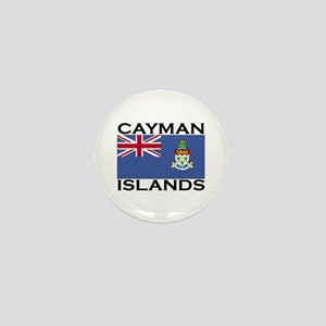 Cayman Islands Flag Mini Button